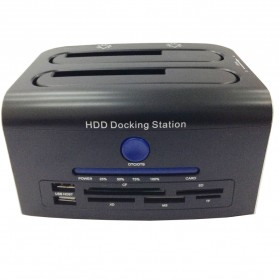 Dual SATA HDD Docking Station USB2.0 Model 329U3S - 1