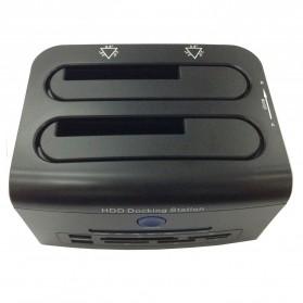 Dual SATA HDD Docking Station USB2.0 Model 329U3S - 2