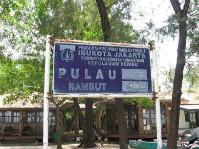 Pulau Rambut Jakarta kepulauan seribu, Jakarta traveller