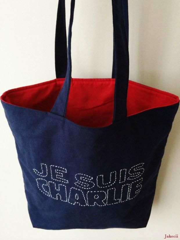 Jakecii Je Suis Charlie Sashiko - Doublure