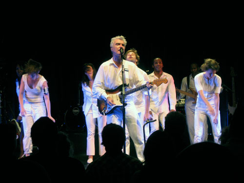 David Byrne at the Uptown