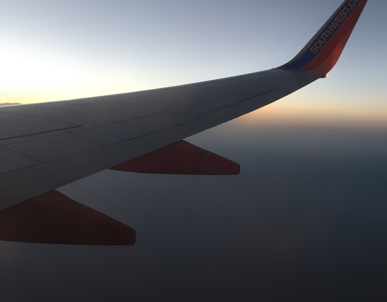 The view out my plane window