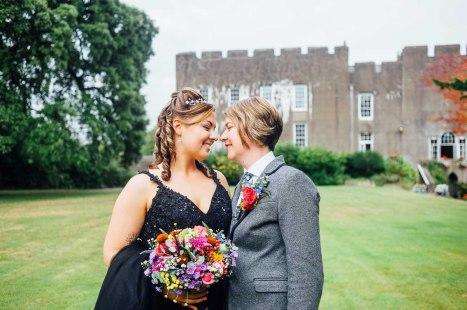 Fonmon Castle Wedding photography-120
