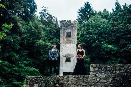 Fonmon Castle Wedding photography-132