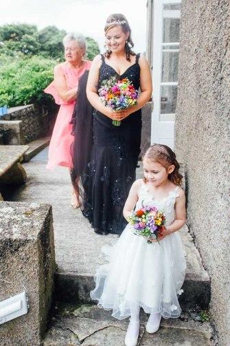 Fonmon Castle Wedding photography-54