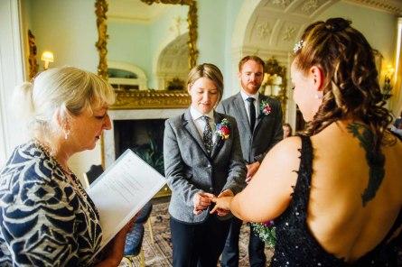 Fonmon Castle Wedding photography-62