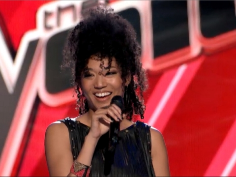 """Judith Hill stole the Blind Auditions round with her impressive cover of Christina Aguilera's """"What A Girl Wants."""" (Photo property of NBC)"""