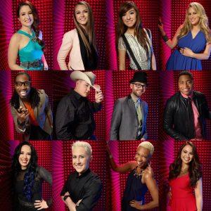 The Voice Season Six Top 12