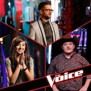 The Voice Season Six Final Three