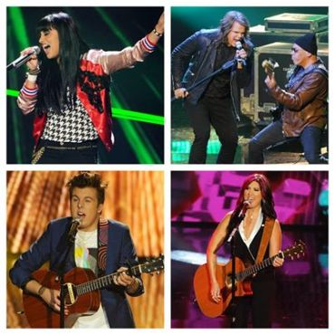 "Three of these ""Idol"" contestants earned the right to go home as heroes! (Photo property of FOX)"