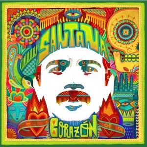 Santana Corazon album cover