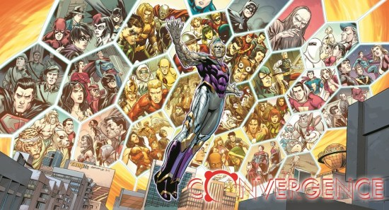 """Fan-favorite heroes,villains and storylines will return to for DC Comics' massive crossover: """"Convergence."""" (Artwork by Carlo Pagulayan (pencils), Jose Marzan Jr. (inks) and Hi-Fi Colour (colors) & property of DC Comics)"""