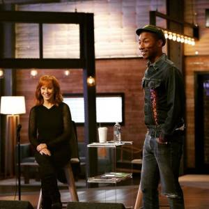Reba McEntire and Pharrell Williams The Voice