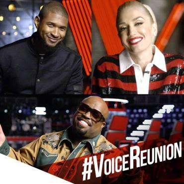 Usher CeeLo Gwen Voice Reunion