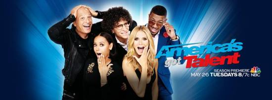 """Howie Mandel, Howard Stern, Mel B, Heidi Klum and Nick Cannon will celebrate the tenth anniversary season of """"America's Got Talent"""" when the show returns on Tuesday. (Photo property of NBC)"""