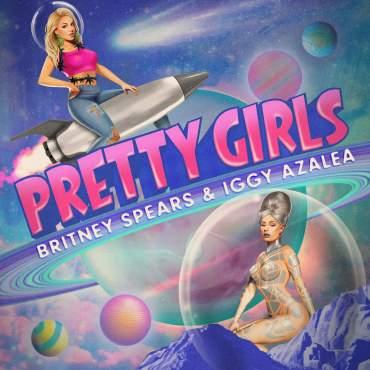 Britney Spears and Iggy Azalea Pretty Girls