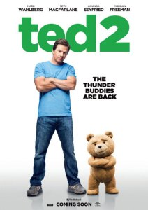 Mark Wahlberg Ted 2 poster