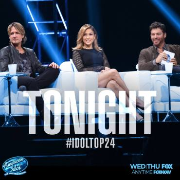 """American Idol"" judges Keith Urban, Jennifer Lopez and Harry Connick Jr. introduced ""American Idol's"" final Top 24. (Photo property of FOX, 19 Entertainment & FremantleMedia North America)"