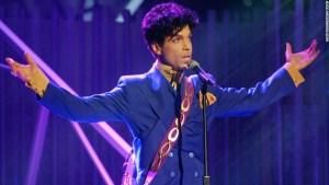Prince dies 2016