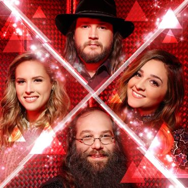 """Either Adam, Alisan, Laith or Hannah will become the winner of """"The Voice: Season 10"""" tomorrow night. (Photos and graphics are property of NBC & United Artists Media Group)"""