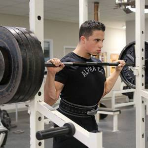 Nick Wright powerlifting