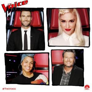 The Voice Season 12 coaches