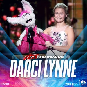 Darci Lynne returns to AGT