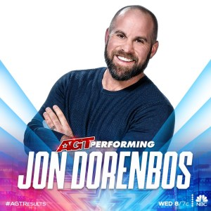 Jon Dorenbos returns to AGT