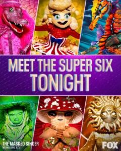 The Masked Singer Season Four Super Six