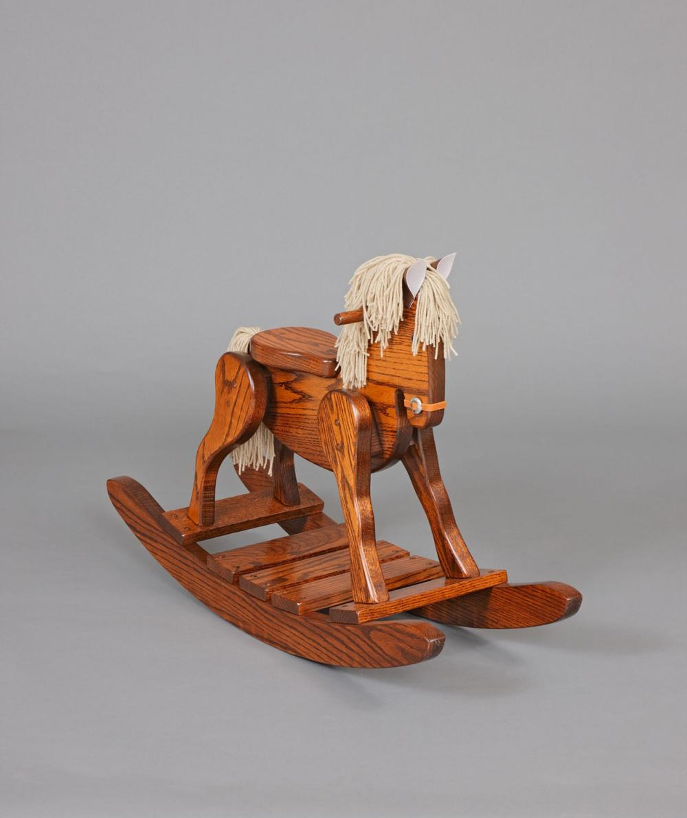Jakes Amish Furniture 10 1 Rocking Horse 17 High Seat
