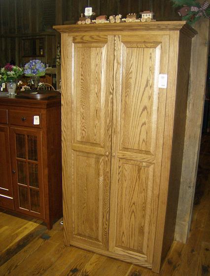 Jakes Amish Furniture 95A Jakes Wider Wardrobe