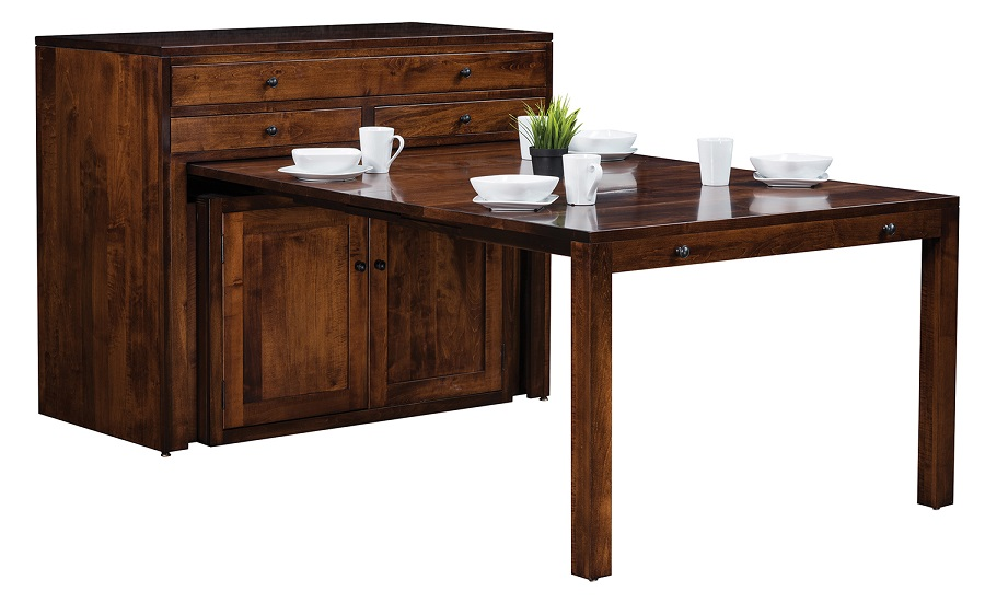 Jakes Amish Furniture GO 7032 Century Buffet Table