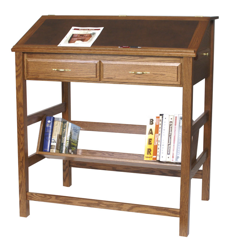 Jakes Amish Furniture STUP Stand Up Desk In Oak