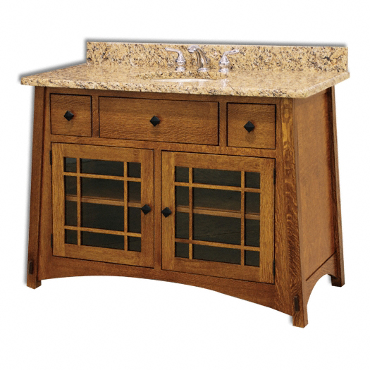 Jakes Amish Furniture McCoy Bathroom Vanity