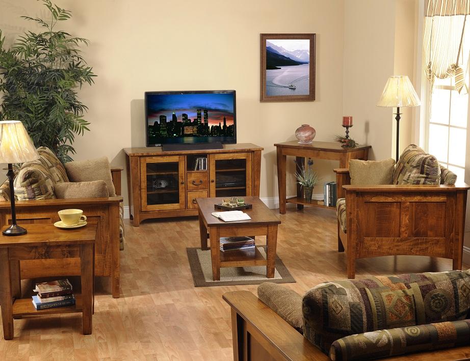 Jakes Amish Furniture Urban Shaker Living Room Furniture