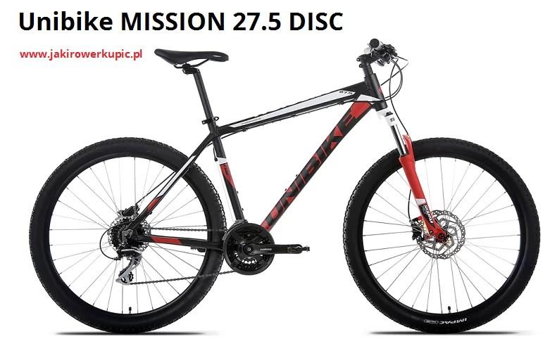 unibike mission 27.5 disc 2017