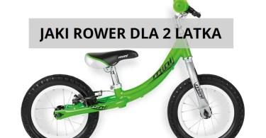jaki rower dla 2 latka zdj