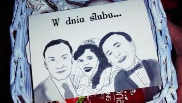 Życzenia ślubne z prezydentem