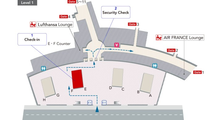 Image result for lufthansa senator lounge jfk terminal 1