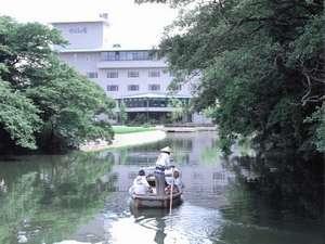 かんぽの宿 柳川 外観