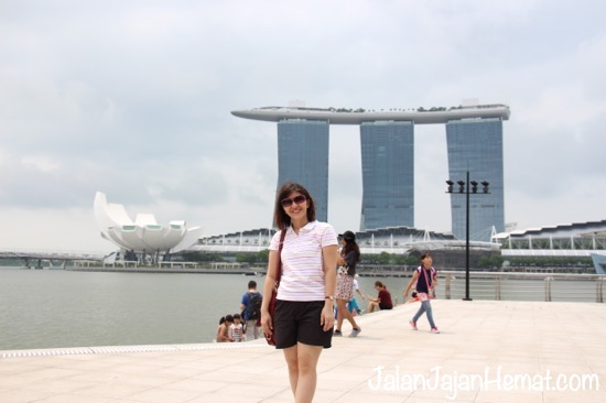 View di Merlion Park