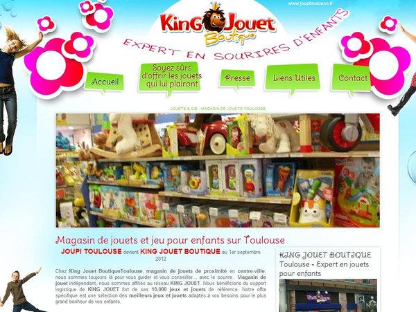 Magasin De Jouets Toulouse Joupi Toulouse Agence Web