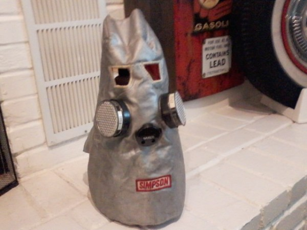 Vitage Silver Simpson Fire Mask | The H.A.M.B.