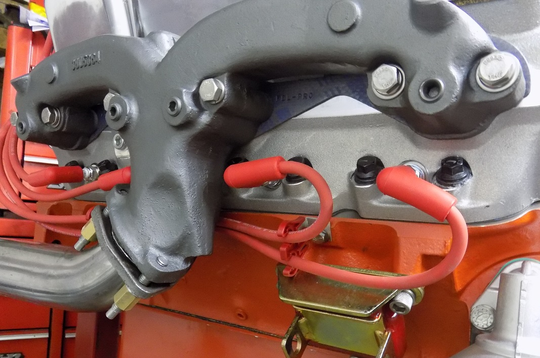 technical new exhaust manifold paint
