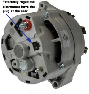 Technical  older style Delco alternator confusion, 1 wire possible, or not? | The HAMB