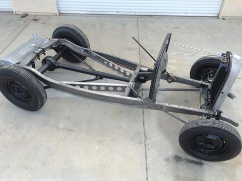1932 Ford Traditional Hot Rod Chassis Built With Henry