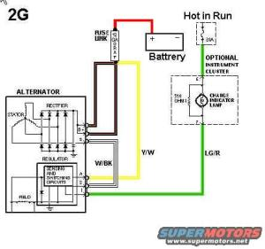 87 f150 50 charging system help!!!!  Ford Truck