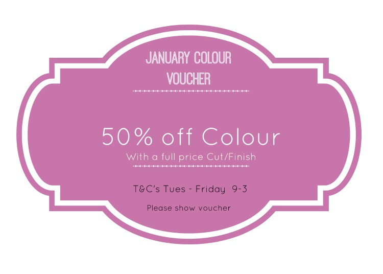 January Colour Sale is now on