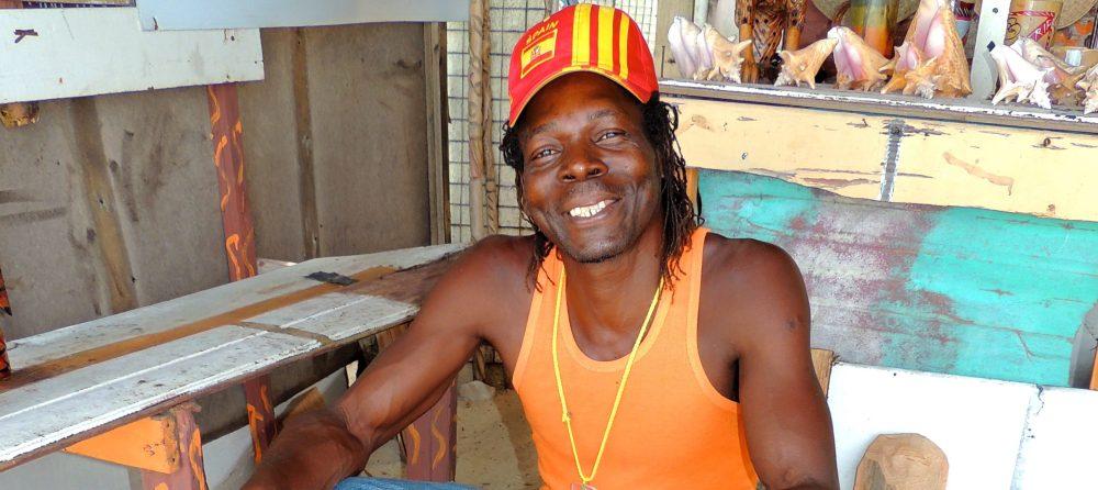 Jamaican Rastafarian; Carver