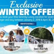 Winter in Ocho Rios vacation deals and special